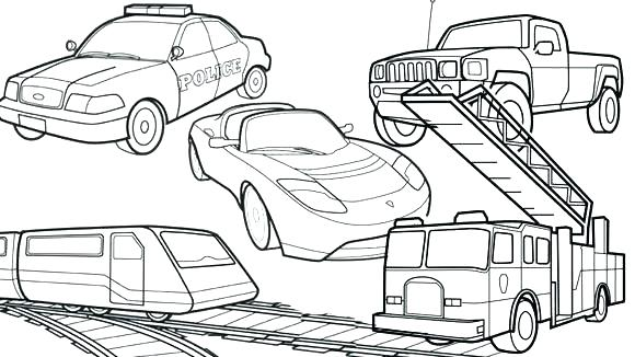 580x326 Transportation Coloring Pages Transportation Coloring Sheets
