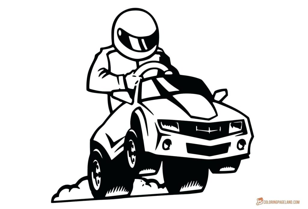 1024x696 Coloring Pages Transportation Coloring Pages Printable Race Car