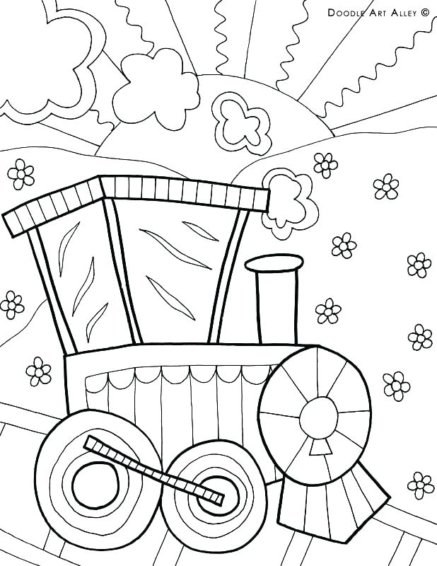 618x800 Coloring Pages Of Transportation Transportation Coloring Pages