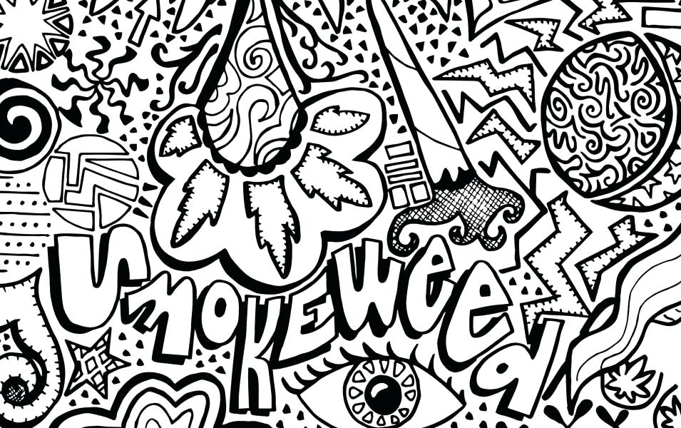955x600 Trippy Coloring Book Pages Trippy Coloring Sheets Draw Psychedelic