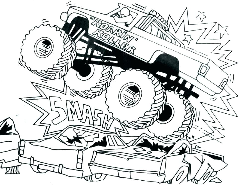 960x744 Free Printable Truck Coloring Pages Download Race Truck Coloring