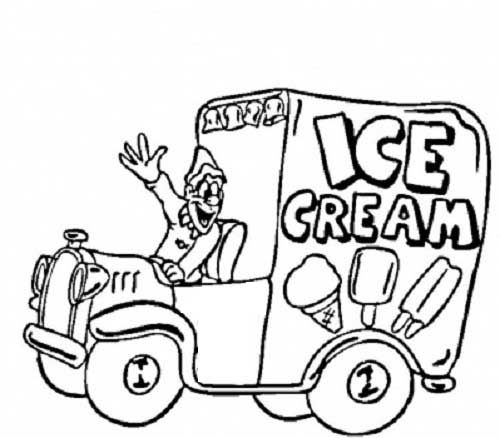 500x438 Free Printable Truck Coloring Pages Download Http