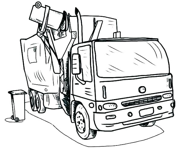 600x498 Printable Truck Coloring Pages Printable Truck Coloring Pages