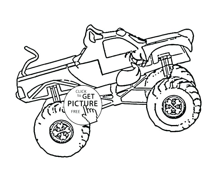 736x588 Digger Coloring Pages Best Grave Digger Monster Truck Coloring