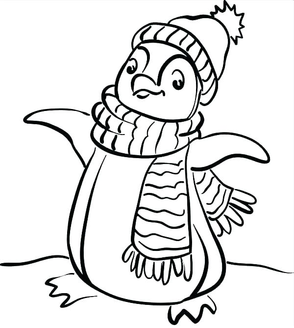 600x668 Printable Coloring Pages Winter Free Coloring Pages Winter Trendy