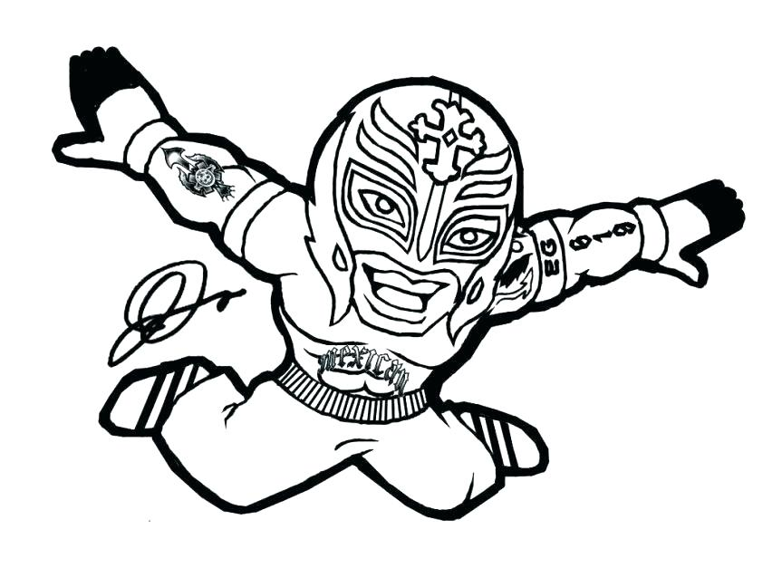 Printable Wrestling Coloring Pages At Getdrawings Com Free For