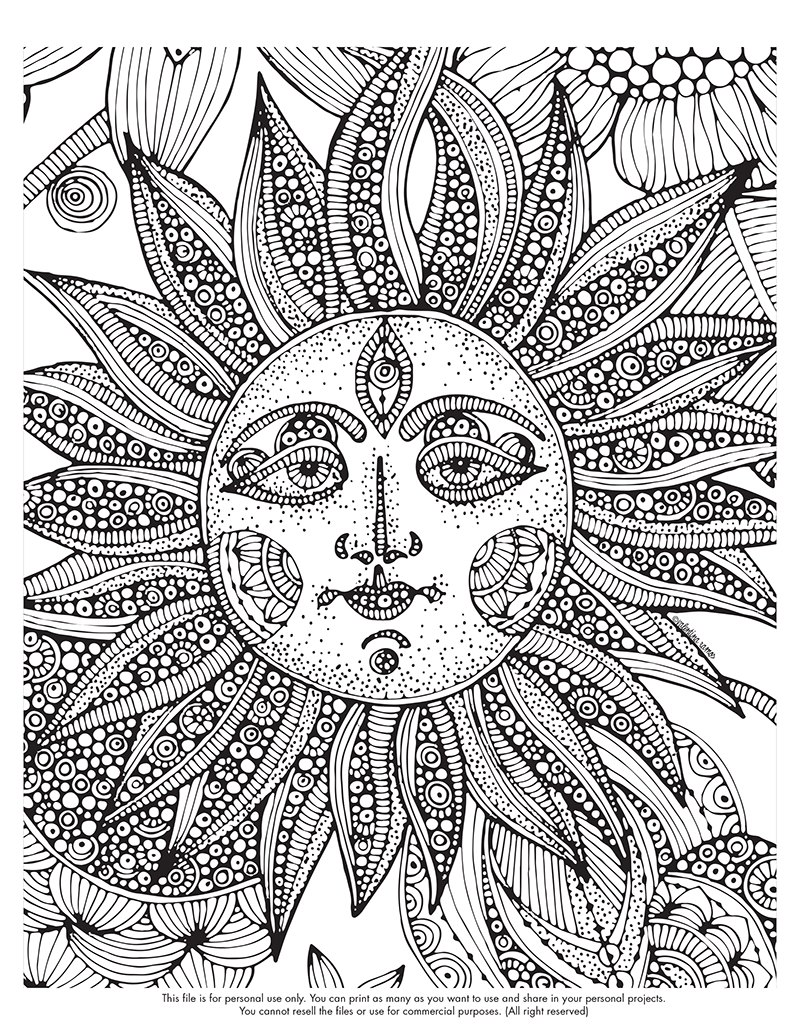 800x1035 Printable Difficult Coloring Pages Difficult