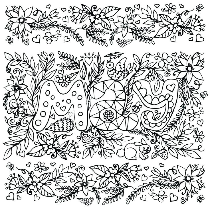 736x732 Free Zentangle Coloring Pages Coloring Book Also May Coloring Page