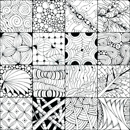 450x450 Zentangle Coloring Pages Free Free Coloring Pages For Adults Stock