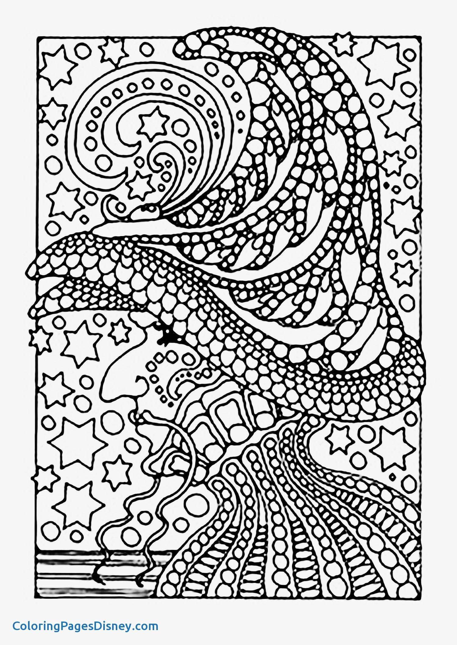 1500x2117 Zentangle Coloring Pages Unique Printable Dolphin Zentangle