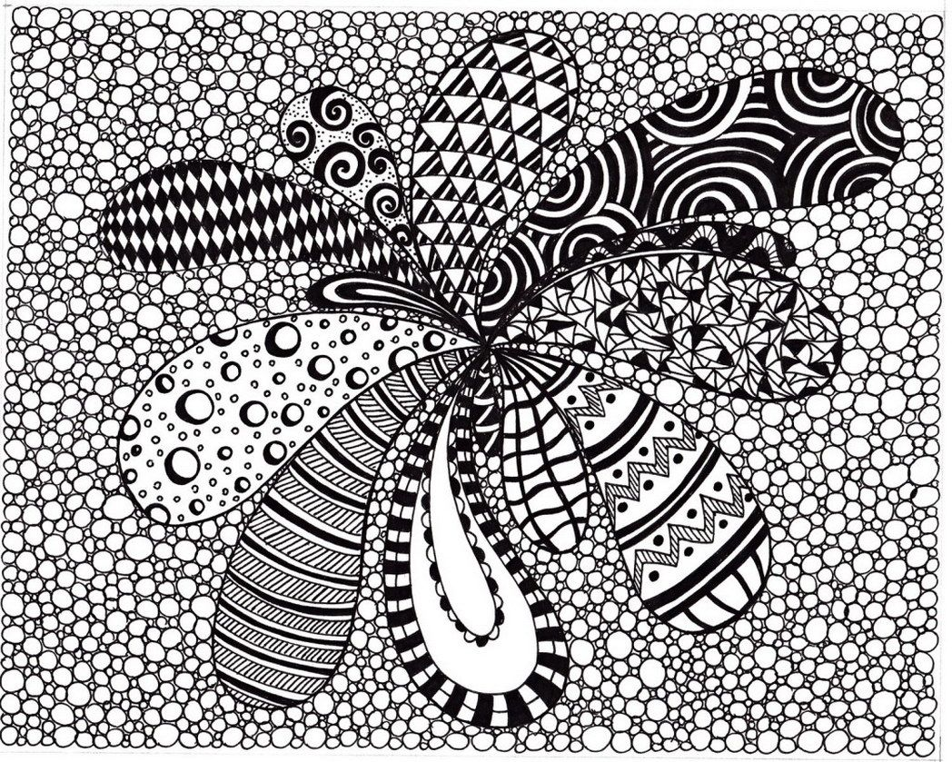 1048x839 Best Zentangle Coloring Pages Unique Card And Picture For Concept