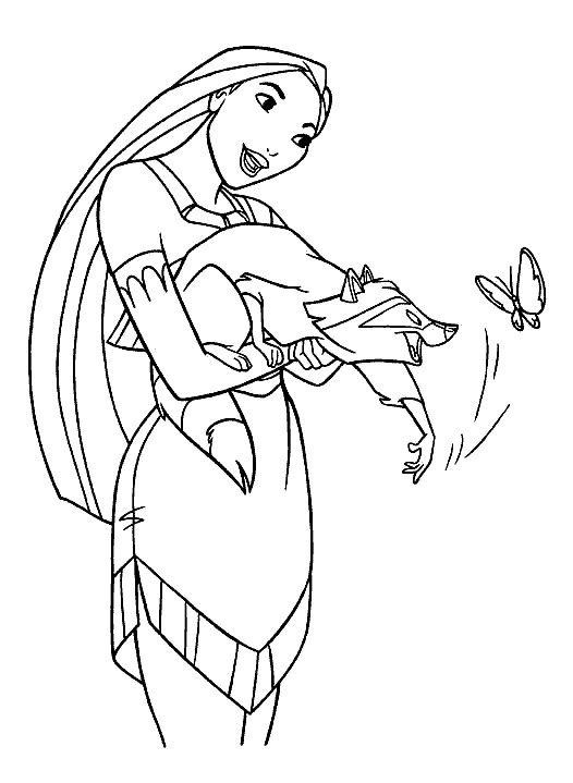 526x719 Disney Princess Coloring Pages