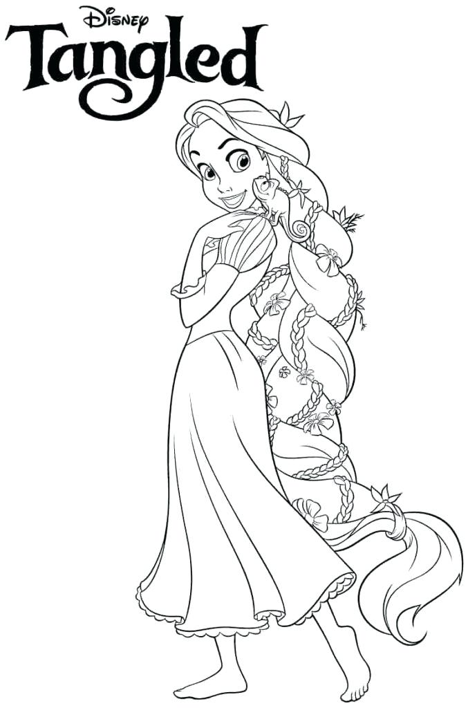 677x1024 Disney Princess Coloring Pages To Print