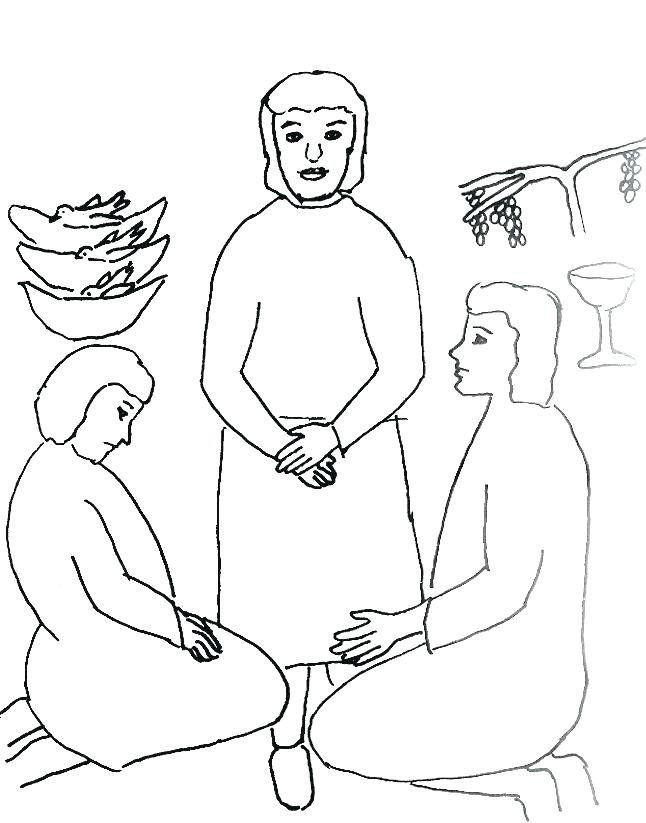 646x823 Joseph In Jail Coloring Page In Jail Coloring Page And In Prison