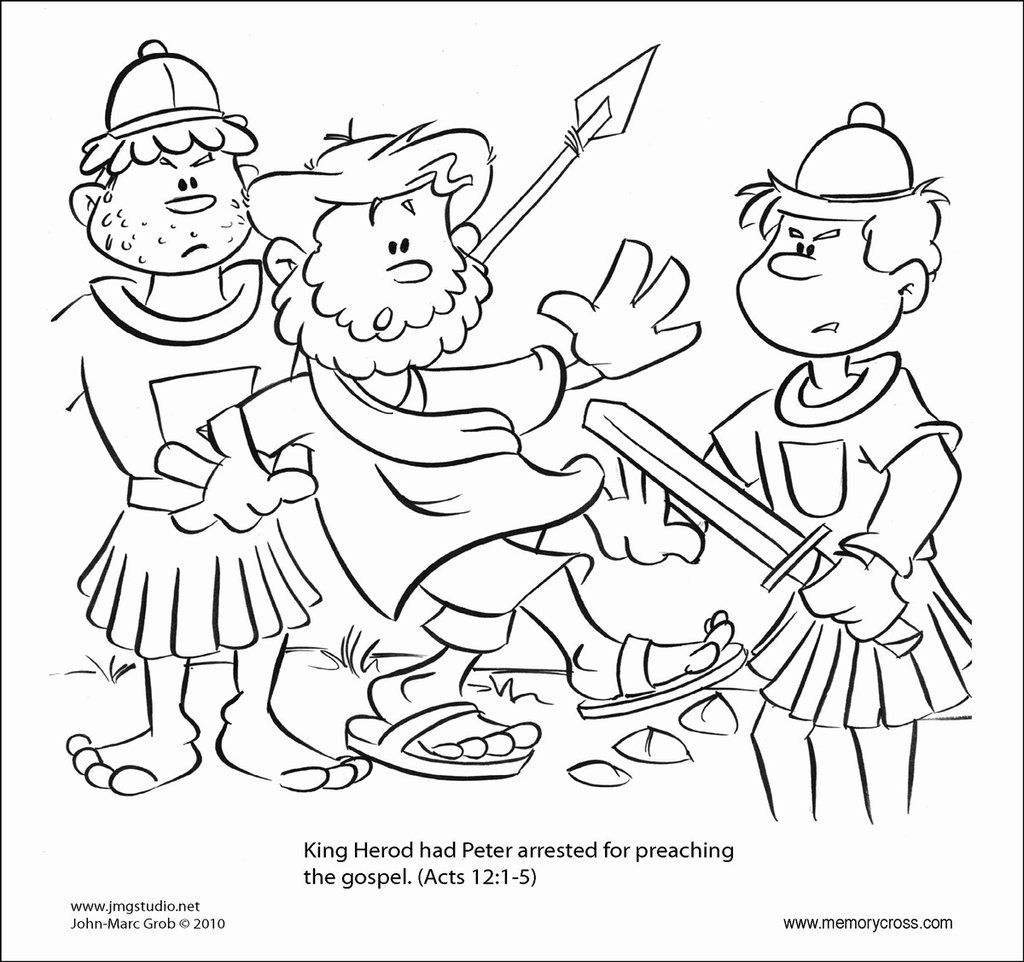 1024x962 Opportunities Peter And John In Jail Coloring Page Resultado De