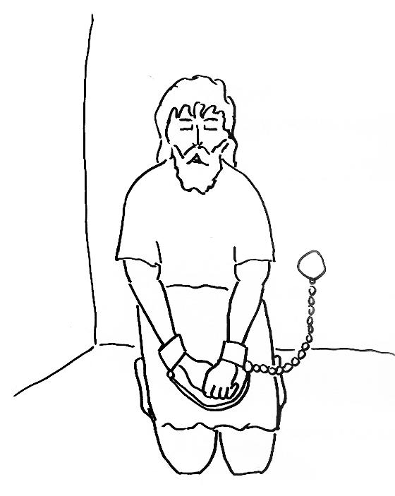 560x703 Peter In Jail Coloring Pages