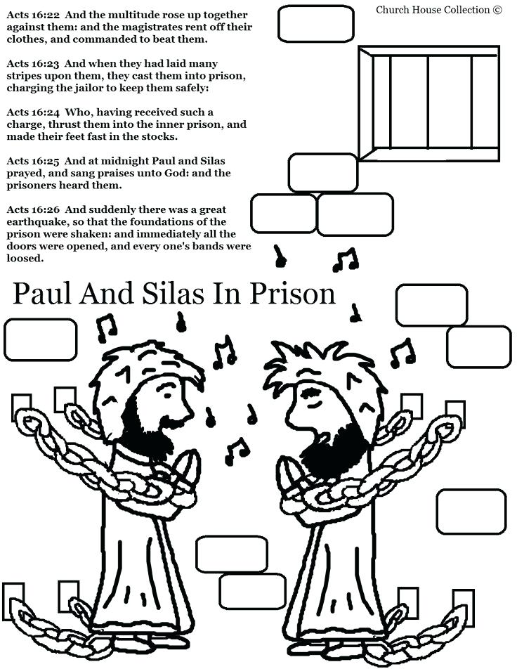 736x952 Coloring Philip And The Ethiopian Coloring Page In Prison Pages