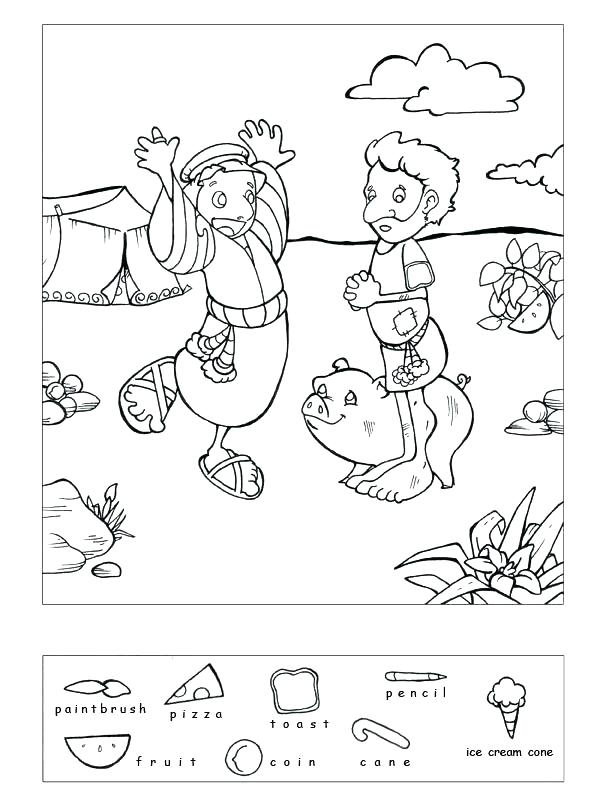 612x792 Prodigal Son Coloring Pages Hidden Object Puzzle And Coloring