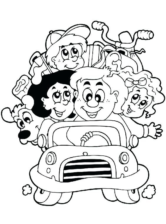 564x761 Family Coloring Sheet The Proud Family Coloring Page Image Family