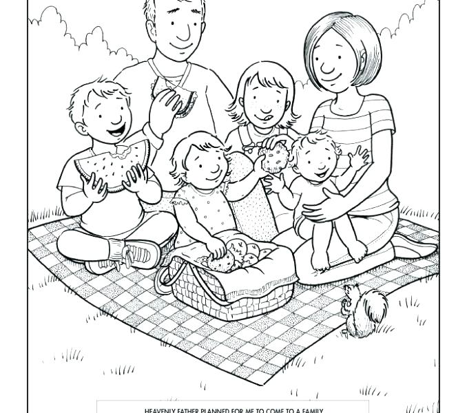 678x600 Family Coloring Good Family Coloring Pages And Family Coloring