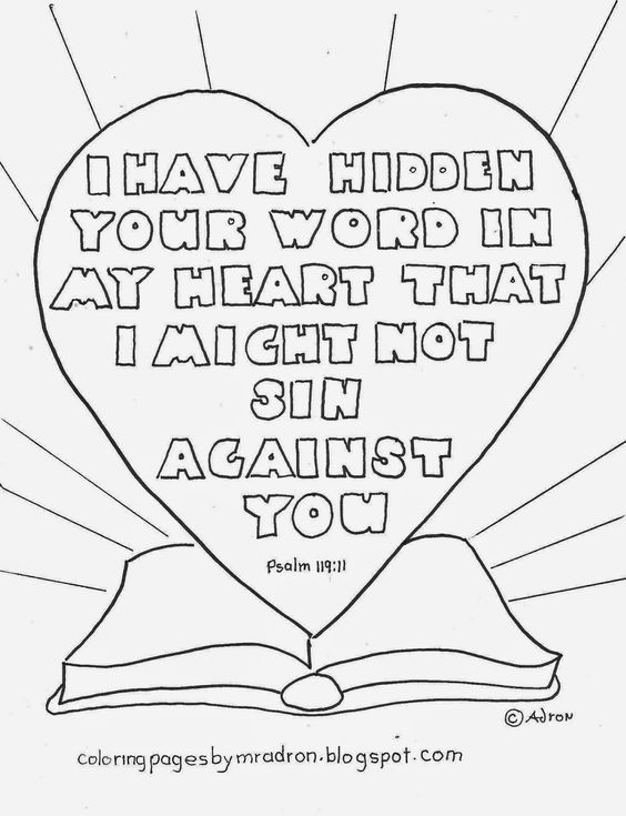 564x735 Free Printable Psalm Coloring Page Ccd!