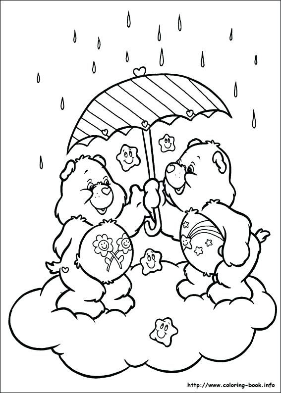 567x794 Care Bear Coloring Pages Plus Meet Cares Bear Care Bears Coloring