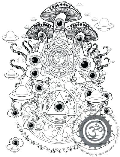 Psychedelic Coloring Pages For Adults at GetDrawings.com ...