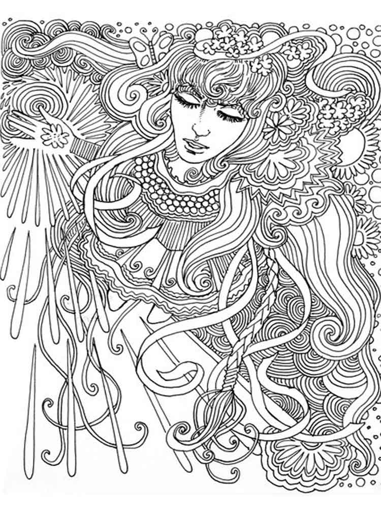The Best Free Psychedelic Coloring Page Images Download From 306
