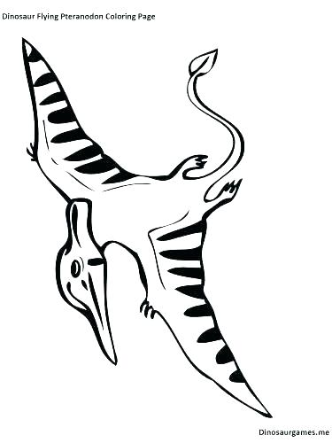375x500 Pterodactyl Coloring Pages Pterodactyl Coloring Pages Pterodactyl