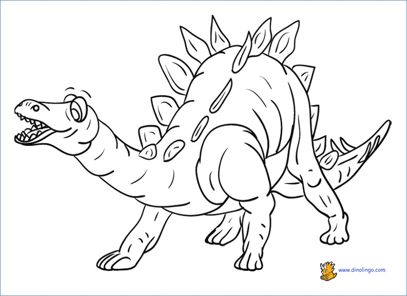 792x576 Pterodactyl Dinosaur Coloring Pages For Preschool