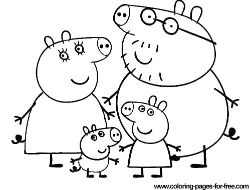 499x380 Coloring Pages Flowers Pig Pictures Color Puddle Free Alphabet