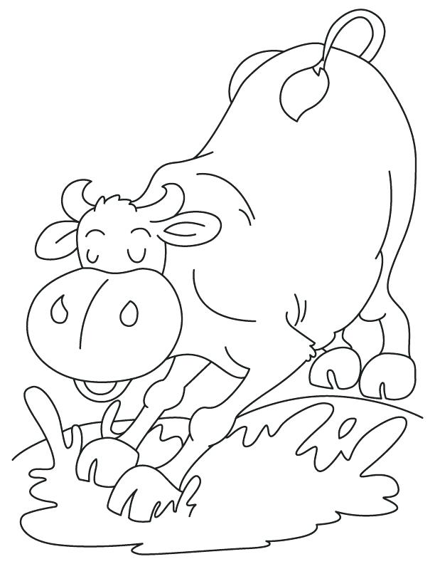 612x792 Mud Man Coloring Page Mud Puddle Coloring Pages Free Coloring