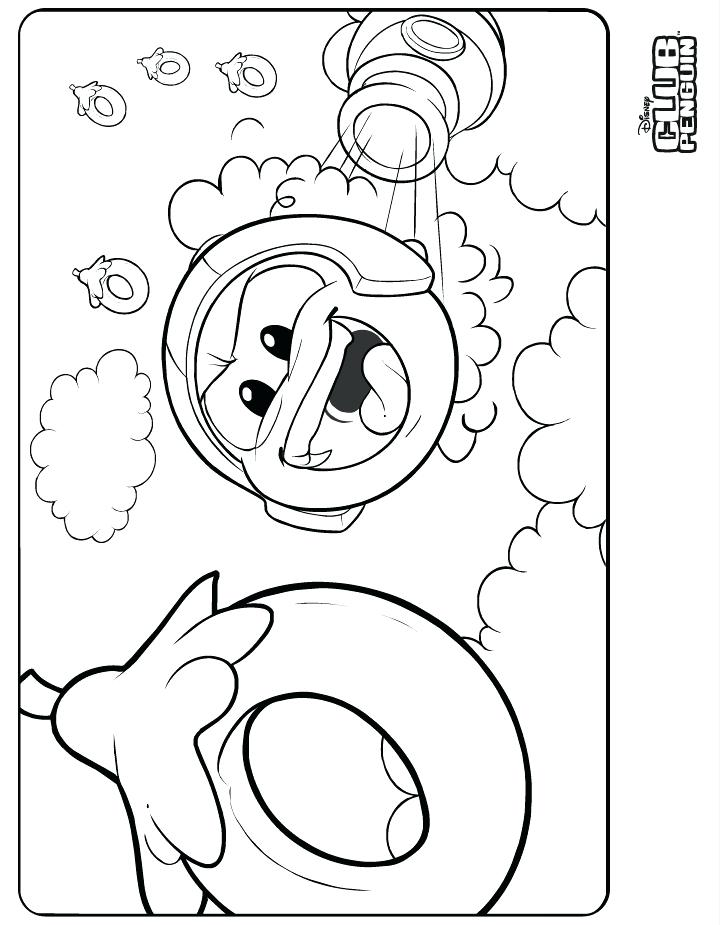 720x925 Coloring Pages Free Coloring Puffle Coloring Sheets