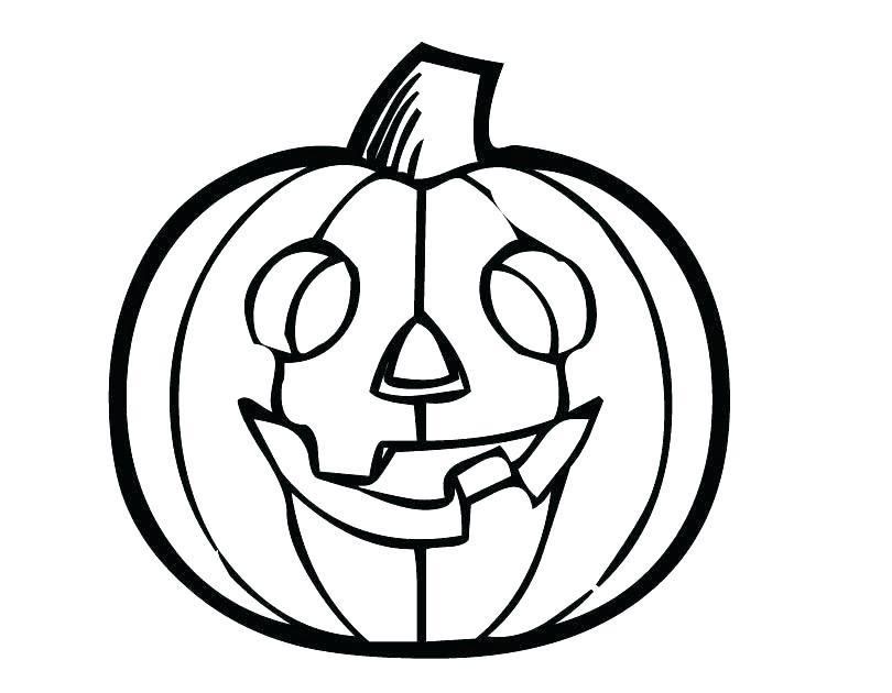 810x630 Printable Pumpkin Outline Coloring Pumpkin Templates Blank Pumpkin