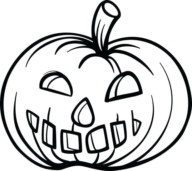 Pumpkin Carving Coloring Pages at GetDrawings | Free download