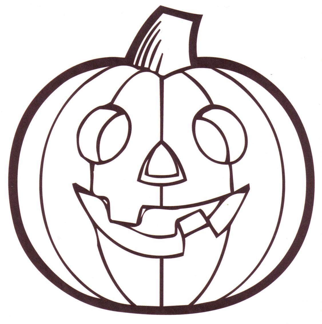 1126x1133 Free Printable Pumpkin Coloring Pages For Kids Halloween