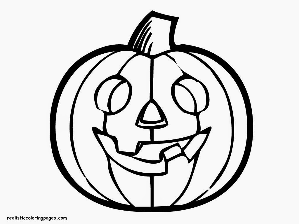 1024x768 Halloween Pumpkin Coloring Pages