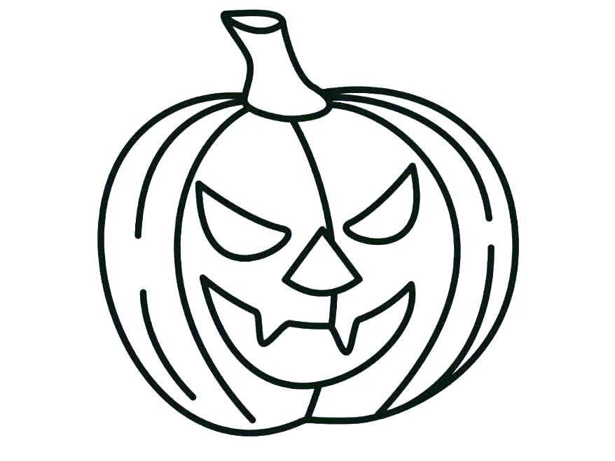 878x659 Printable Pumpkin Coloring Page Pumpkin Coloring Pages Pumpkin