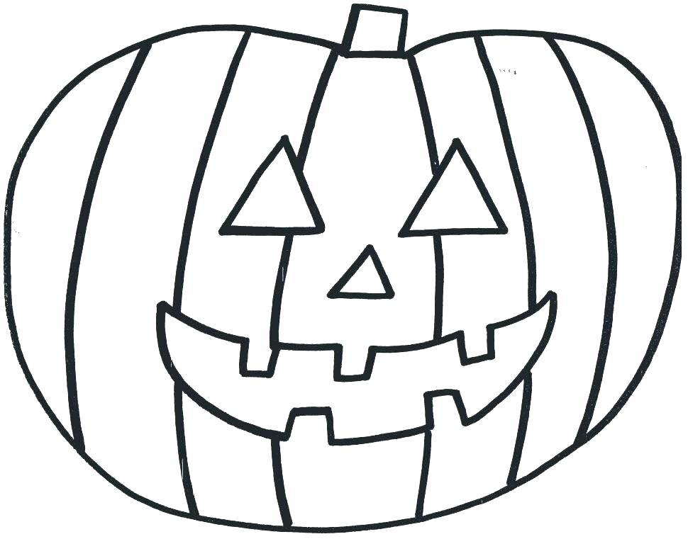 970x761 Pumpkin Color Pages Printable Coloring Pages Of Pumpkins To Print
