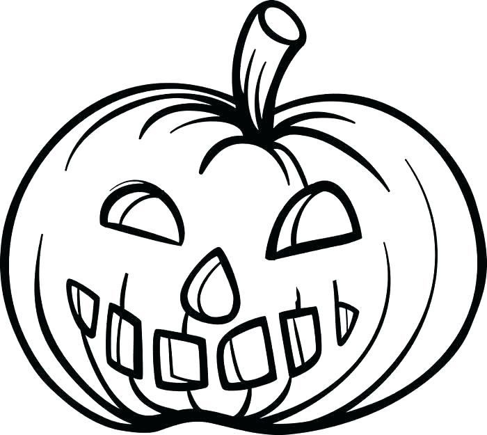700x625 Pumpkin Coloring Pages Free Printable Pumpkin Coloring Pages