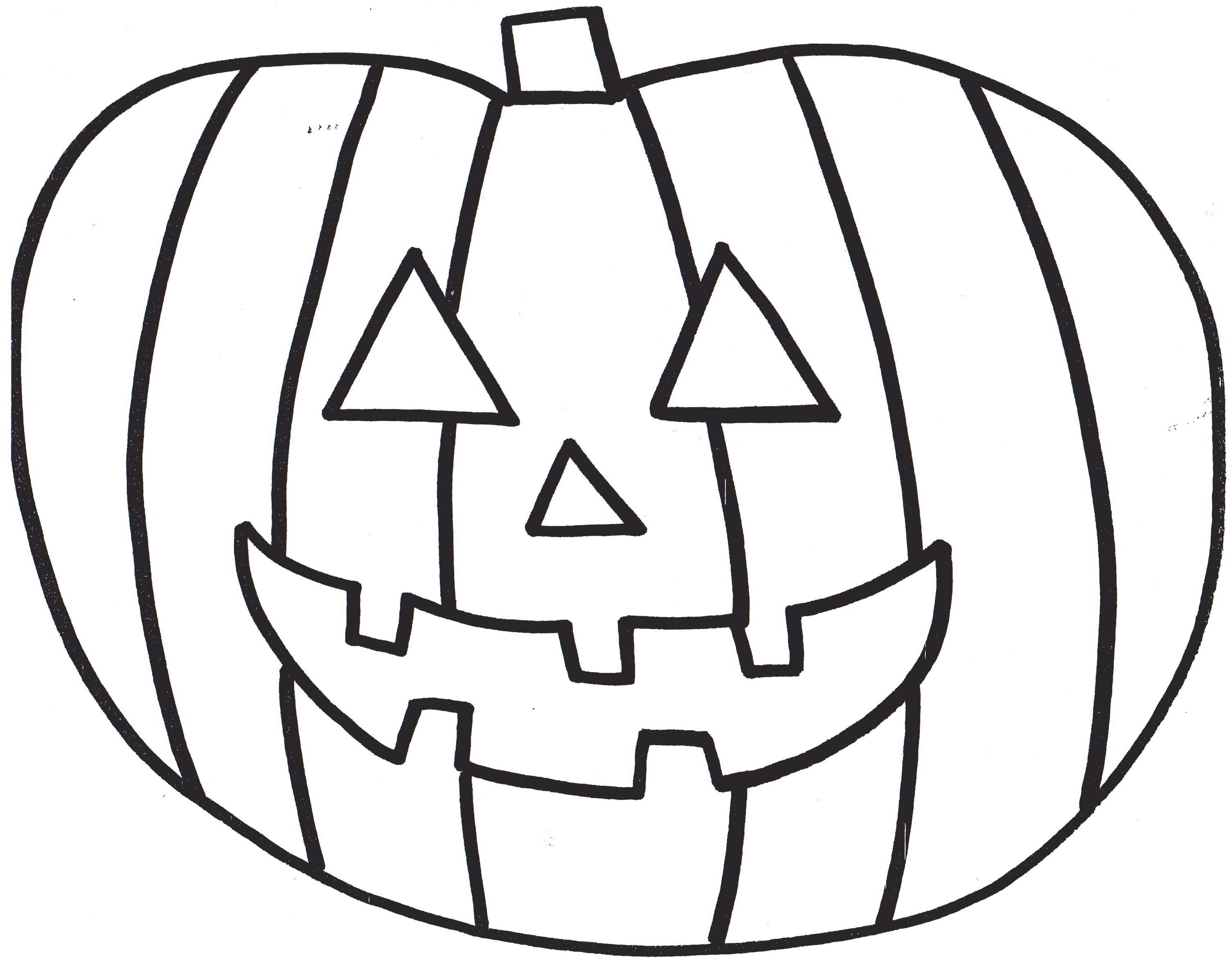 3011x2363 Pumpkins Coloring Pages For Preschool Free Printable Pumpkin Kids