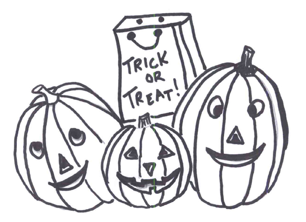 600x435 Top Pumpkin Coloring Pages