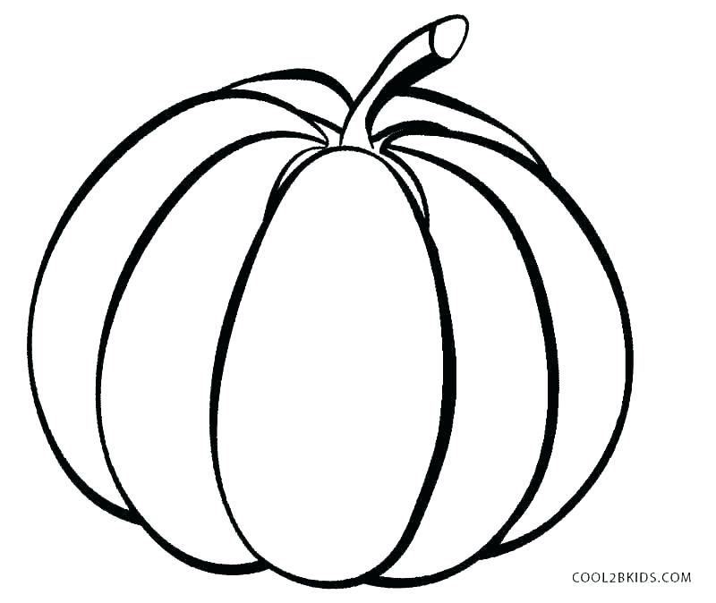 800x674 Pumpkin Coloring Pages Printable