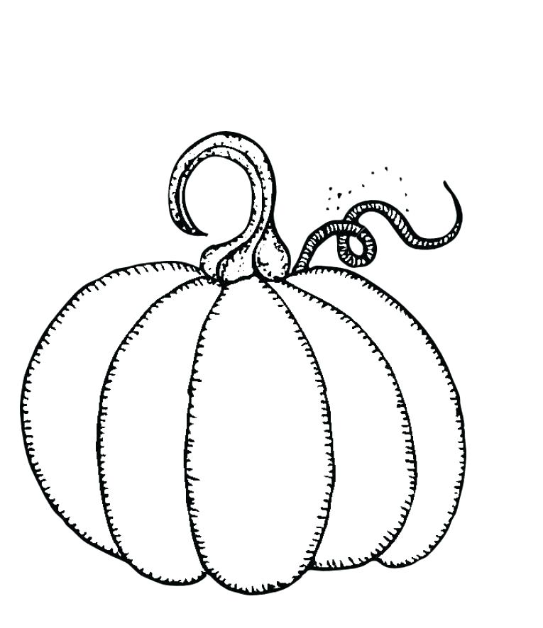765x886 Pumpkin Color Pages Printable Pumpkin Coloring Pages For Kids Free