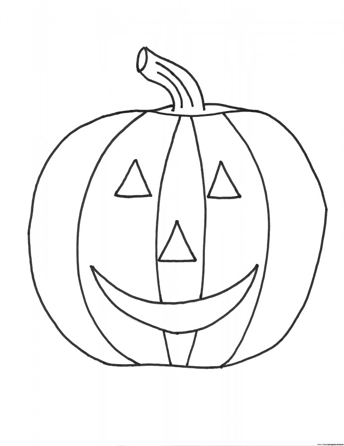 695x900 Pumpkin Coloring Pages Halloween Toddler Halloween Coloring Pages