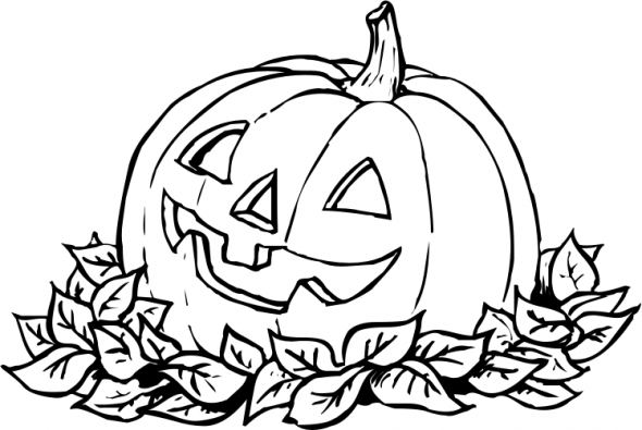 590x395 Pumpkin Coloring Sheets Halloween Pumpkin Coloring Pages For Kids