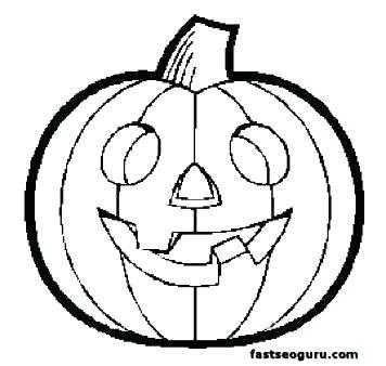 356x338 Pumpkins Coloring Pages Pumpkin Coloring Free Pumpkin Coloring