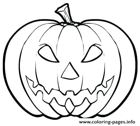 450x404 Pumpkin Coloring Pages For Toddlers Easy Coloring Pages Pumpkin