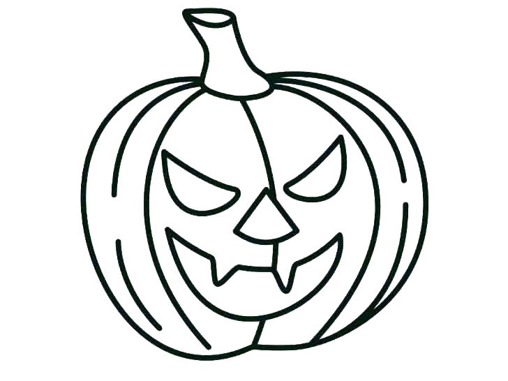 728x546 Pumpkin Colouring Pages Blank Pumpkin Coloring Page Pumpkin
