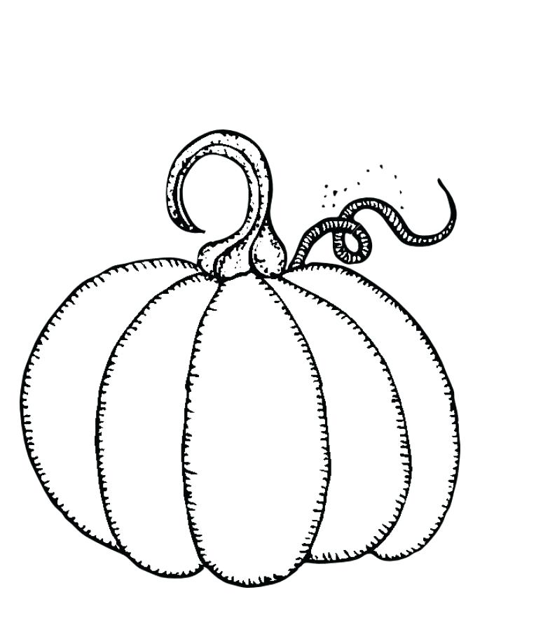 765x886 Pumpkins Coloring Sheets